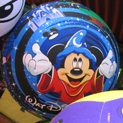 Disney Balzac Ball - 24 Inch - Extra Large Sorcerer Mickey Mouse