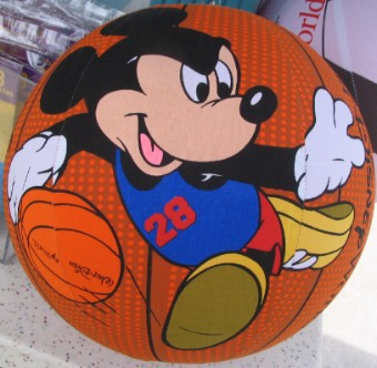 Your Wdw Store Disney Balzac Ball 12 Inch Mickey Mouse Basketball