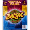 Disney Balzac Ball Balloon Refill Pack - 12 and 15 Inch Size - 8 EA