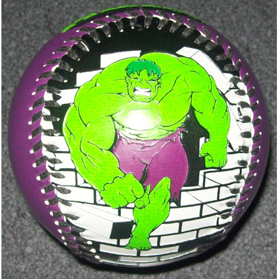 Universal Collectible Baseball - Incredible Hulk