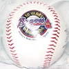 Disney Collectible Softball Baseball - BRAVES 2007