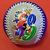 Disney Collectible Baseball - 2009 Logo