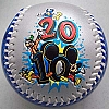 Disney Collectible Baseball - 2010 Logo Ten Times The Fun