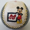 Disney Collectible Baseball - 2011 40th Anniversary Celebration