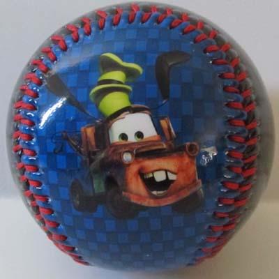 Disney Collectible Baseball - 2011 CARS 2 Lightning McQueen Tow Mater
