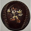 Disney Collectible Baseball - Indiana Jones Mickey Mouse