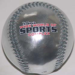 Disney Collectible Baseball - Wide World of Sports Center – Silver