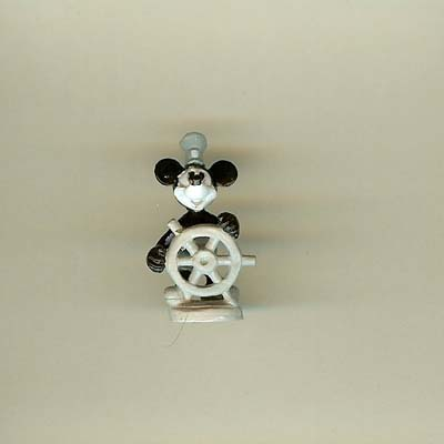 Disney Series 10 Mini Figure - STEAMBOAT WILLIE