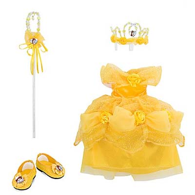 My Disney Girl Doll Costume - Belle
