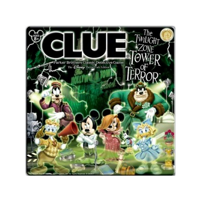 Disney Clue Game - Tower of Terror Edition