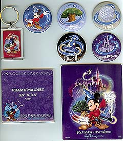 Disney Souvenir Pack - Four Parks One World
