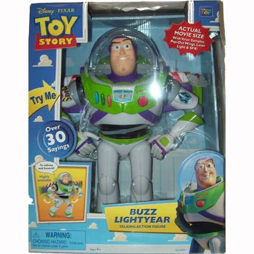 disney pixar toy story figure buzz lightyear talking action figure
