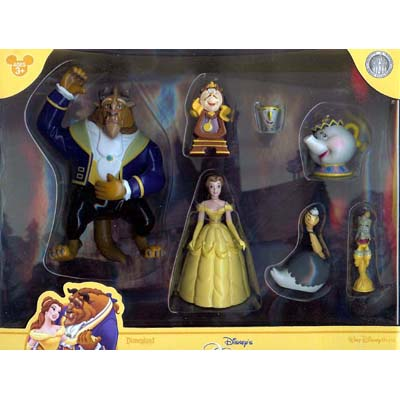 Disney Figurine Set - Beauty and the Beast
