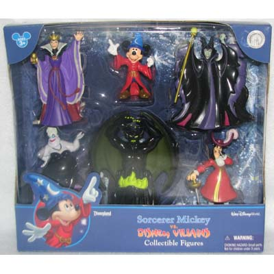Disney Figurine Set – Villains