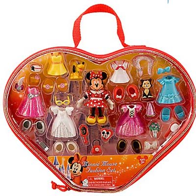 Your Wdw Store Disney Figurine Set Minnie Mouse