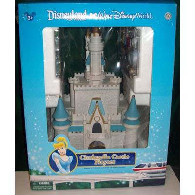 NEW Walt Disney World Parks Monorail Playset Cinderella Castle Figure!