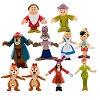 Disney Figurine Set - Monorail - Characters Pack 2