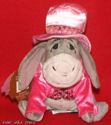 Disney Plush - Eeyore - Valentine's Day 2008