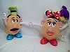 Disney Plush - Mr. and Mrs. Potato Head Set