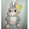 Disney Plush - Easter 2010 - Thumper Easter Bunny Butterfly Wings