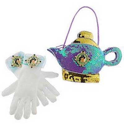 Disney Costume - Princess Gloves and Purse Set - Jasmine