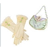 Disney Costume - Princess Gloves and Purse Set - Tiana