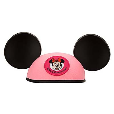 Disney Hat - Ears Hat - Minnie Mouse Pink - YOUTH