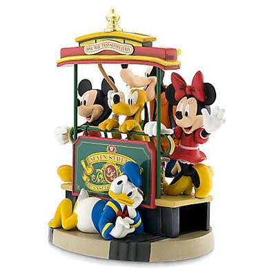 Disney Big Figure Statue - 35th Anniversary - Mainstreet Trolley