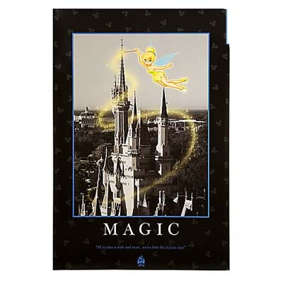 Disney Poster Print - Quotations Series - Magic - 16 X 20