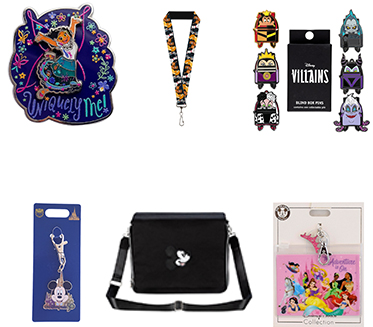 Disney Pins and Accessories