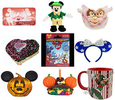 Walt Disney World Holiday Items