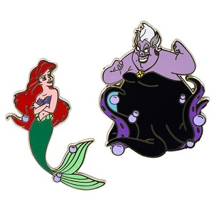Disney Princess Pin - Ariel and Ursula Pin Set