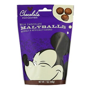 Disney Mickey Chocolate Favorites - Milk Chocolate Malt Balls