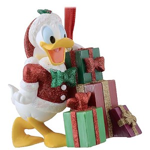Disney Christmas Ornament - Santa Donald with Presents