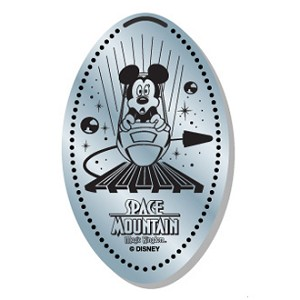 Disney Pressed Dime – Space Mountain Mickey Mouse