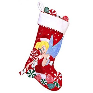 Disney Christmas Holiday Stocking - Tinker Bell - Candy Time
