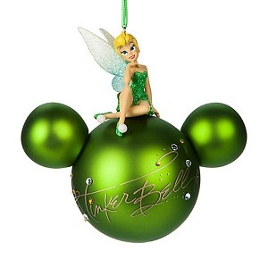 Disney Christmas Ornament - Tinker Bell Signature