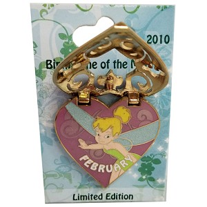 Disney Tinker Bell Pin - Birthstone Collection - February