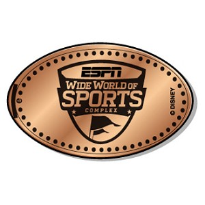 Disney Pressed Penny – ESPN Wide World of Sports Complex Logo