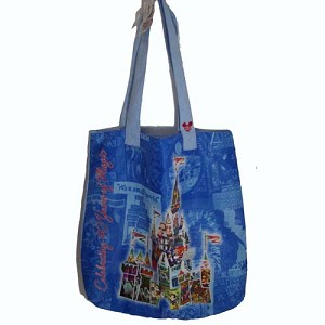 Disney Tote Bag - 40 Years Of Magic - Collage