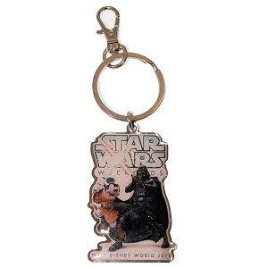 Disney Key Chain Ring - Star Wars Weekends 2011 Mickey Darth Vader