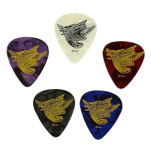Disney Guitar Pick Plectrum - Aerosmith Rock N Roller Coaster Ride