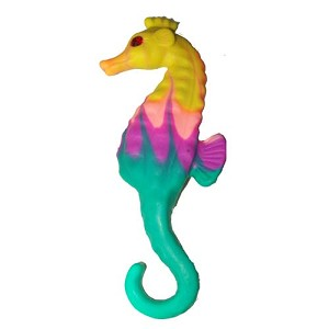 SeaWorld Magnet - Swarovski Clay Critter - Colorful Seahorse