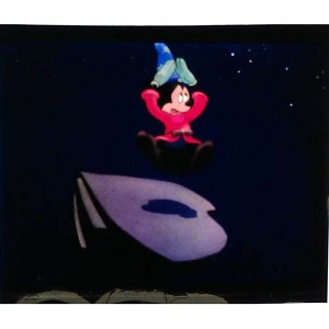 Disney Piece of Disney Movies Pin - Fantasia - Sorcerer Mickey