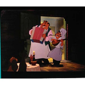 Disney Piece of Disney Movies Pin - Lady and the Tramp - Chefs - Table