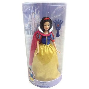Disney Doll - Snow White with  Jeweled Hair Brush