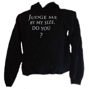 Disney Child Hoodie - Star Wars - Judge Me By My Size Yoda
