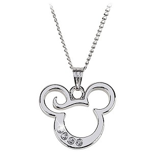 Disney Necklace - Mickey Curl Necklace