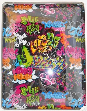 Disney iPad Tablet Case - Walt Disney World Graffiti Mickey Mouse