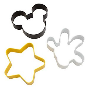 Disney Cookie Cutter Set - Best of Mickey Mouse